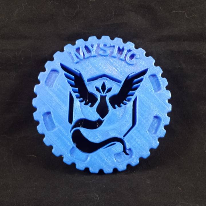 Team Mystic Challenge Coin