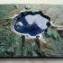 Crater Lake, Oregon - with lake-bed image