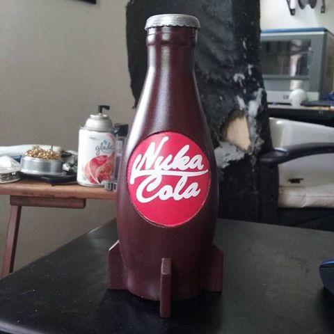 3d printable fallout 4 nuka cola bottle by nik kuryla. Black Bedroom Furniture Sets. Home Design Ideas