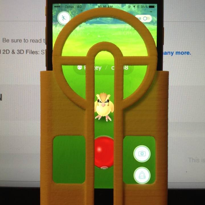 Pokeball Aimer - iPhone 6/6S - Pokemon Go