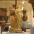Statuette of a woman dancing at The British Museum, London image