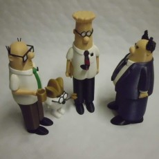 Picture of print of Dilbert