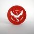 Pokemon Go Team Valor Challenge Coin image