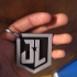 Justice League Logo Keychain image