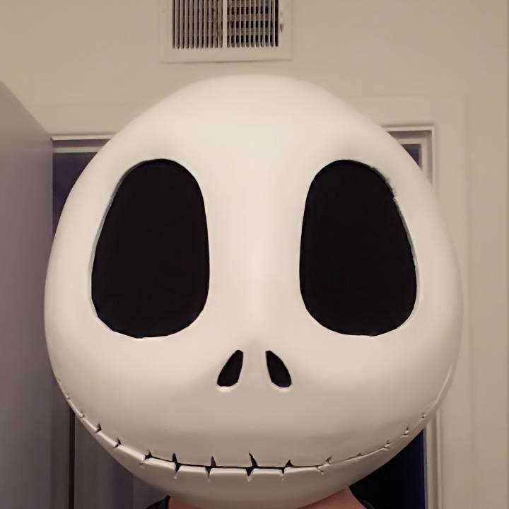 3d Printable Jack Skellington Head By Christopher Bermant