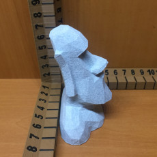Picture of print of Low Poly Moai This print has been uploaded by Todd Olsen
