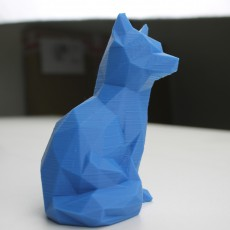 Picture of print of Low Poly Fox
