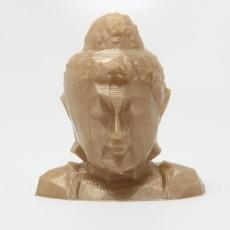 Low Poly Buddha Head