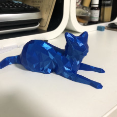 Picture of print of Low Poly Cat 这个打印已上传 Dennis