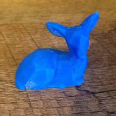 Picture of print of Low Poly Fawn