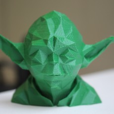 Picture of print of Low Poly Yoda