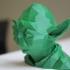 Low Poly Yoda print image