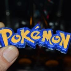 Picture of print of Pokemon GO Keychain Keyring Hanger