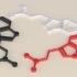 DMT Molecule Earrings/Necklace image