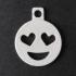 Heart Eyes Emoji Keychain Addon image