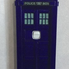 TARDIS light switch cover