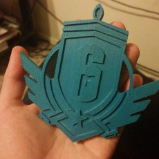 Picture of print of Rainbow Six Siege: Diamond Emblem