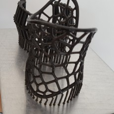 Picture of print of Voronoi Cuff Bracelet This print has been uploaded by Photocentric