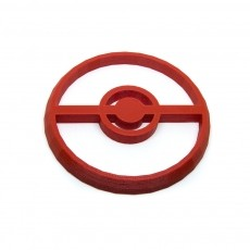 Pokeball Cookie Cutter