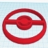 Pokeball Cookie Cutter image