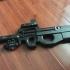 AEG  MARUI CA G&G P90  MP9 sliencer adapter image