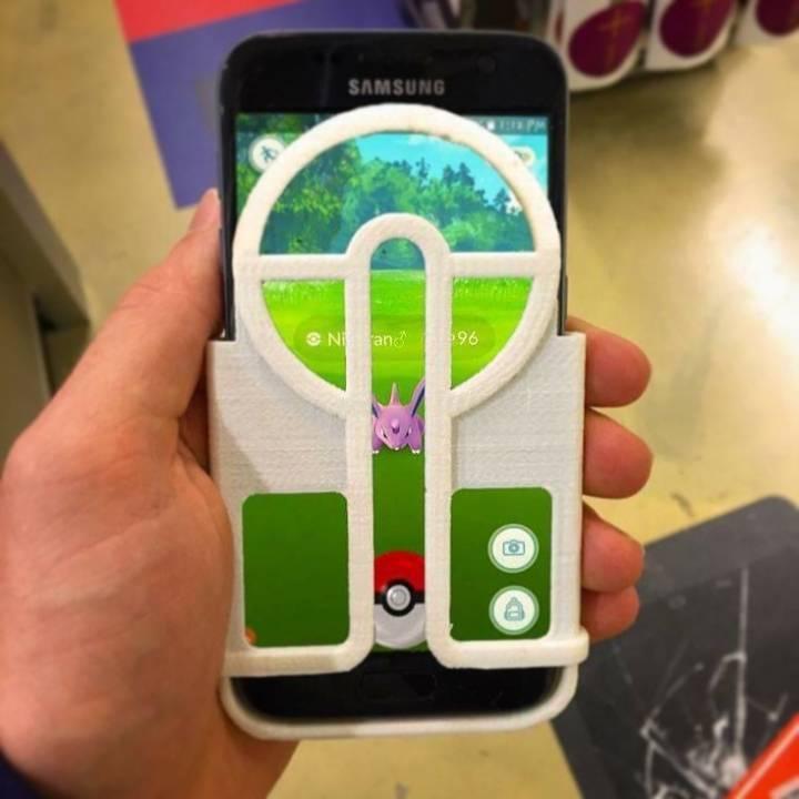 Pokeball Aimer - Samsung Galaxy S6 & S7 - Pokemon Go