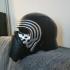 Kylo Ren Helmet print image
