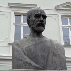 George Coșbuc in Sibiu, Romania