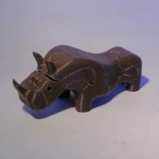 Puzzle Rhinoceros