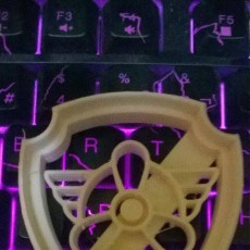 Picture of print of paw patrol skye cookie cutter