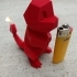 Charmander With Flaming Tail (candle) image