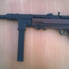 Picture of print of MP40 - Maschinenpistolen 40