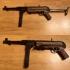 MP40 - Maschinenpistolen 40 print image