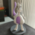 Mewtwo Figure print image