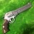 Blue Rose Revolver print image