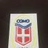 Crest COMO Calcio print image