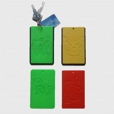 POKEMON - PIKACHU - ID card holder Credit Card Bus card case keyring