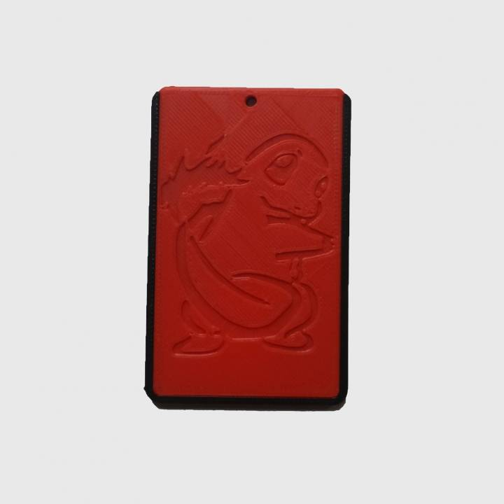 POKEMON - CHARMANDER - ID card holder Credit Card Bus card case keyring