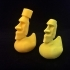 Easter Island Rubber Duck image