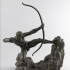 Hercules the Archer by Antoine Bourdelle image