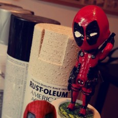 Picture of print of Chibi Deadpool