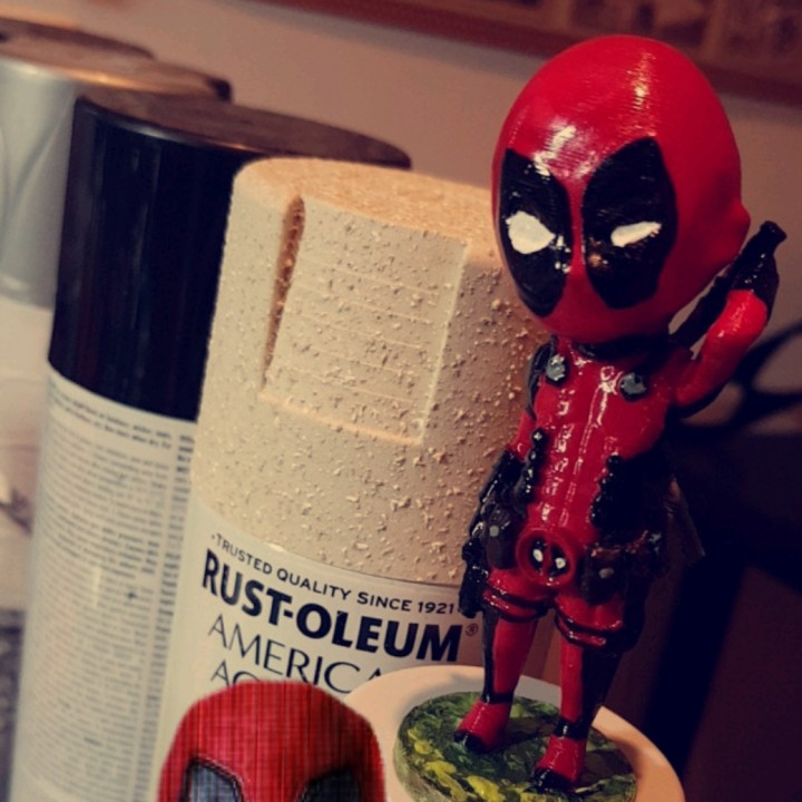 Picture of print of Chibi Deadpool This print has been uploaded by khaled