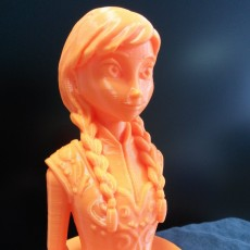 Picture of print of Frozen: Elsa Bust