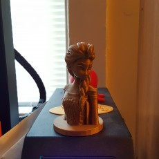 Picture of print of Frozen: Elsa Bust 这个打印已上传 Brian McAllister