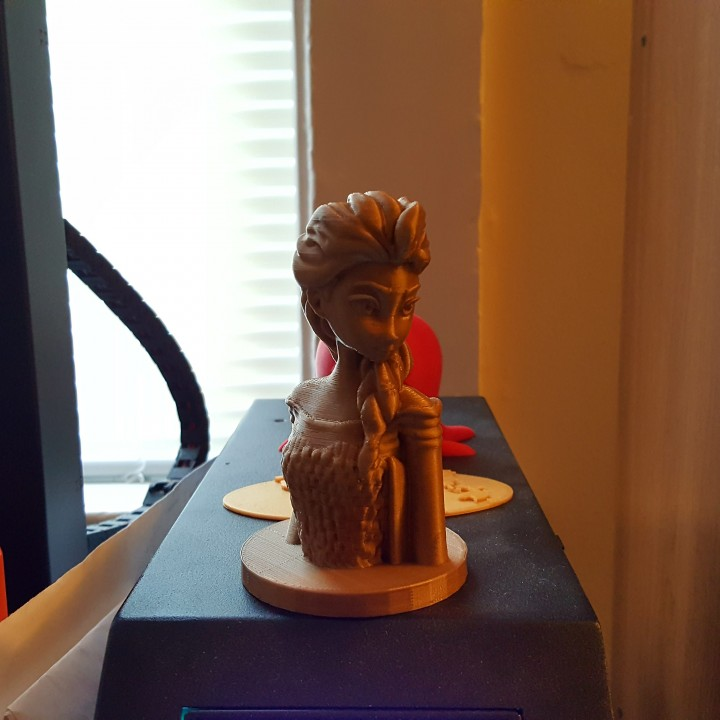 Picture of print of Frozen: Elsa Bust This print has been uploaded by Brian McAllister