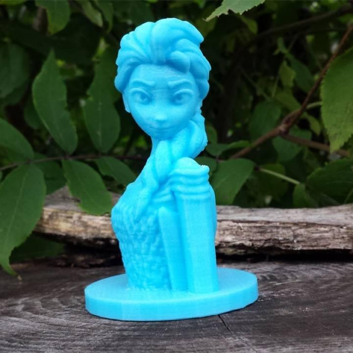 Frozen: Elsa Bust