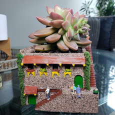 Picture of print of Mini Middle Eastern Villa