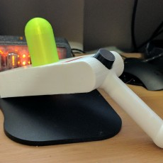Picture of print of Rick's Portal Gun from Rick and Morty