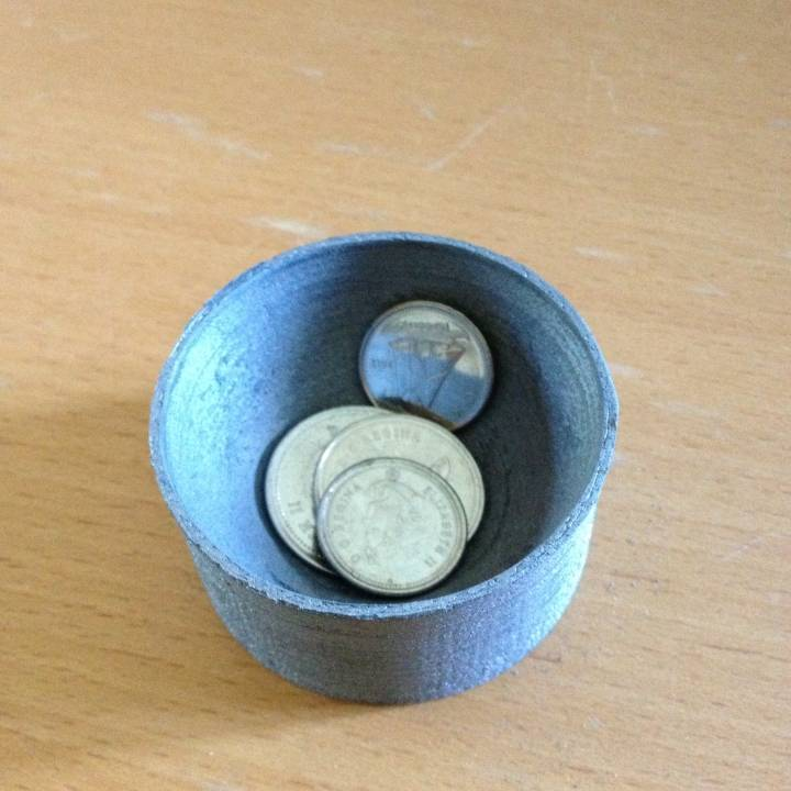 Coin cup