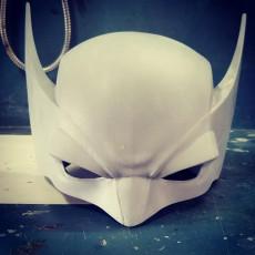 Picture of print of Wolverine Helmet